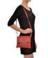 Red leather snake-effect clutch bag Sale - Sofia Cardoni Sale