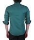 Green cotton blend contrast shirt Sale - Brango Sale