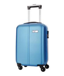 Wild blue spinner suitcase 46cm