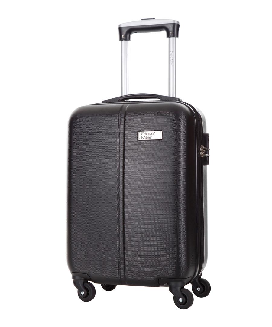 Wild black spinner suitcase 46cm Sale - steve miller