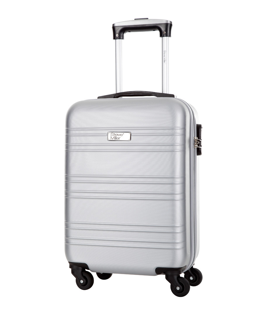 Child silver spinner suitcase 46cm Sale - steve miller