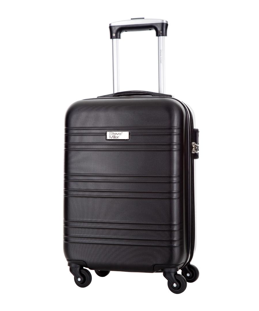 Child black spinner suitcase 46cm Sale - steve miller