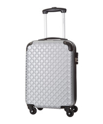 Sailor silver spinner suitcase 46cm