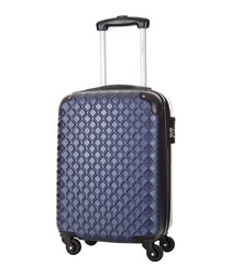 Sailor blue spinner suitcase 46cm