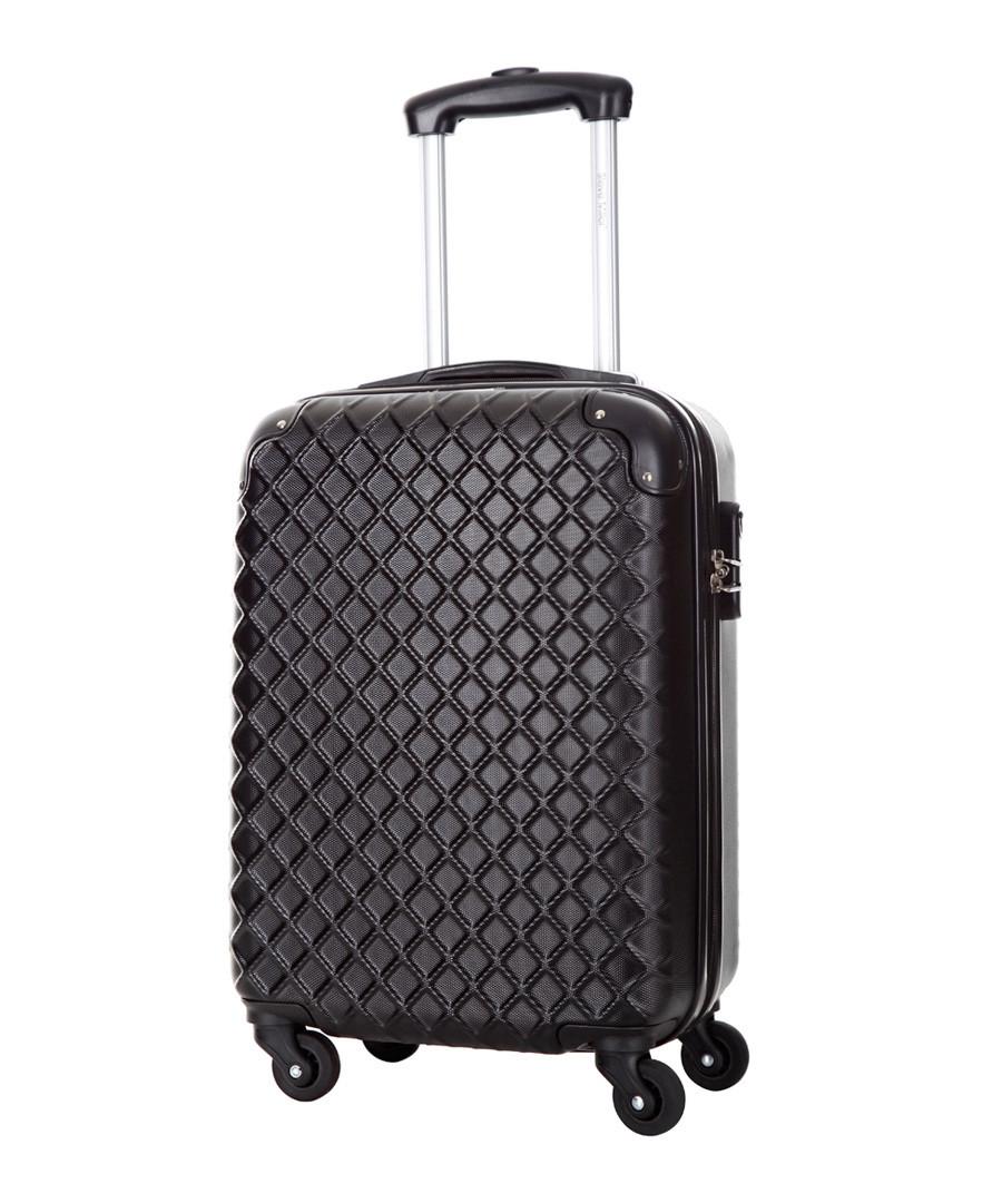 Sailor black spinner suitcase 46cm Sale - steve miller