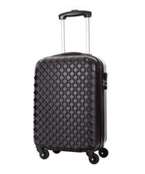 Sailor black spinner suitcase 46cm