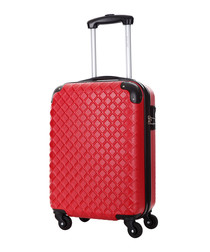 Sailor red spinner suitcase 46cm