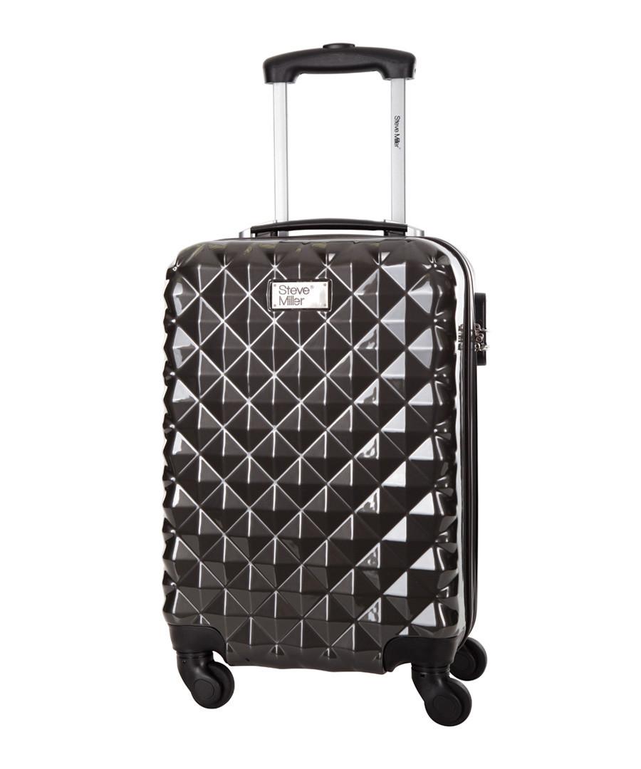 Heart grey spinner suitcase 46cm Sale - steve miller