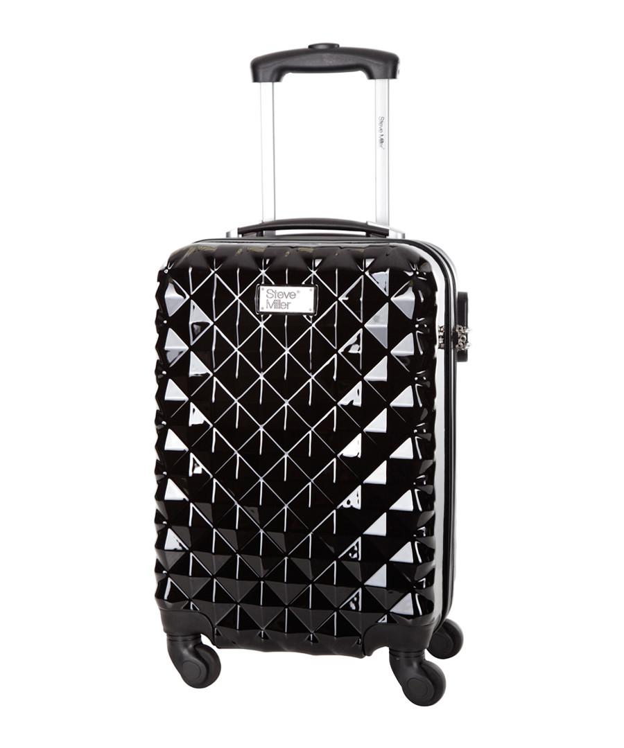 Heart black spinner suitcase 46cm Sale - steve miller