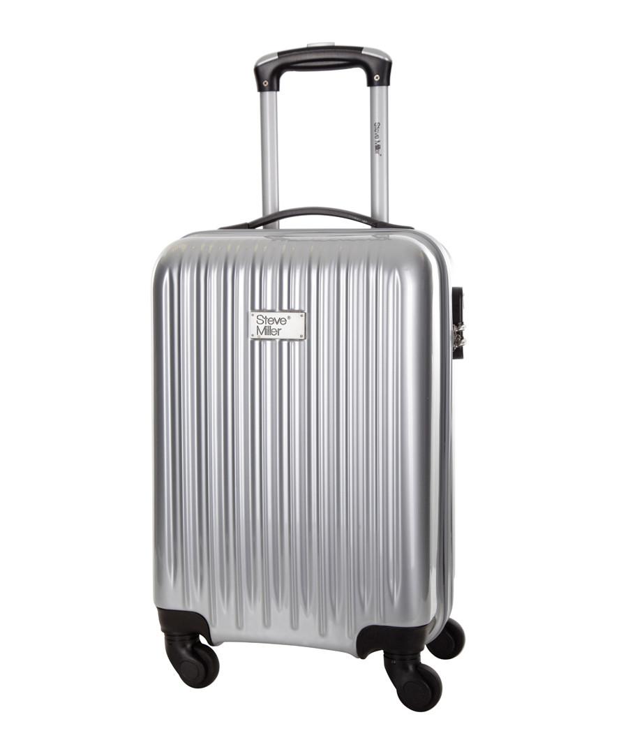 Eagle silver spinner suitcase 46cm Sale - steve miller