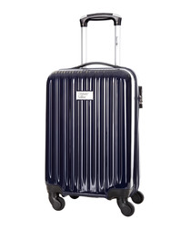 Eagle blue spinner suitcase 46cm