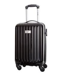 Eagle black spinner suitcase 46cm