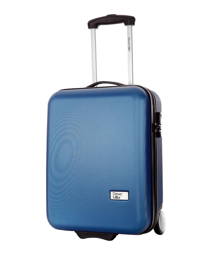 Hover blue upright suitcase 48cm Sale - steve miller