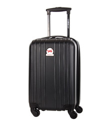 Angsana black spinner suitcase 45cm