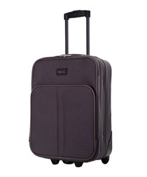 Amallia grey upright suitcase 48cm