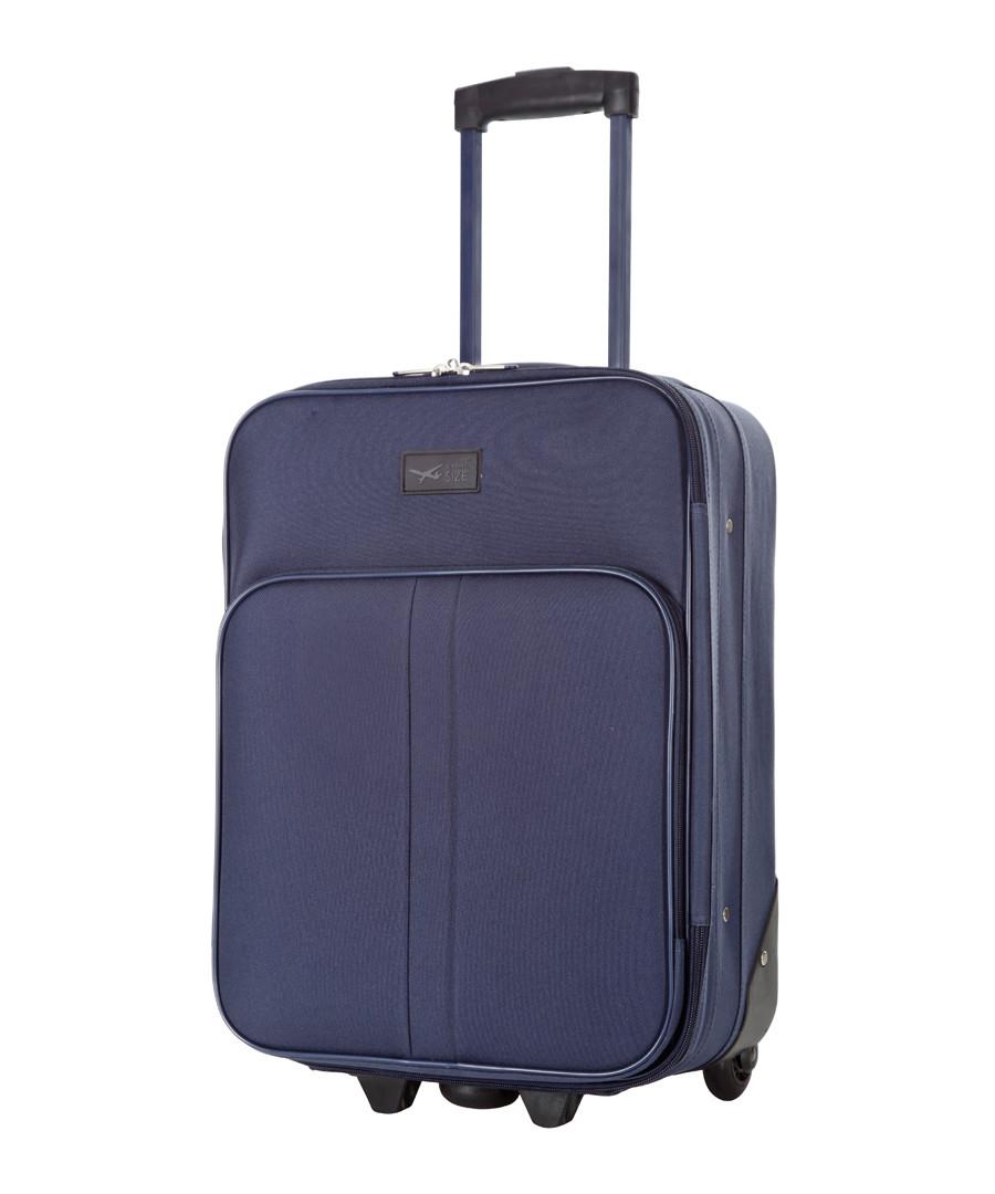 Amallia blue upright suitcase 48cm Sale - cabine size
