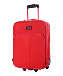 Amallia red upright suitcase 48cm