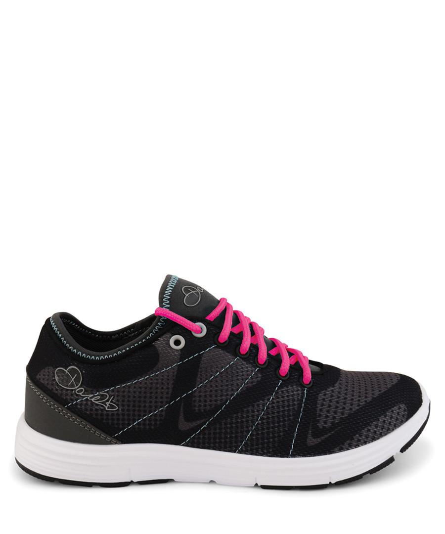 Infuze black & neon pink sneakers Sale - dare2b
