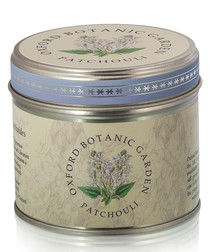 Patchouli tin candle