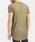 Khaki cotton worn-effect T-shirt Sale - true prodigy Sale