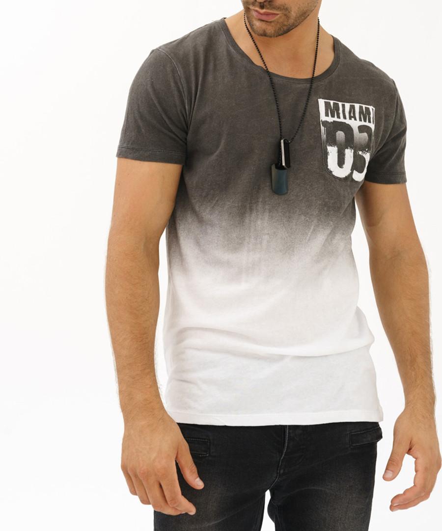 Black cotton Miami T-shirt Sale - true prodigy