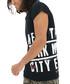 Black cotton NYC slogan T-shirt Sale - true prodigy Sale