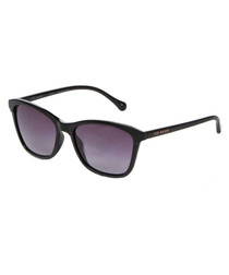 Black & purple lens sunglasses