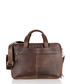 Brown leather messenger bag Sale - woodland leathers Sale