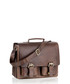 Brown leather satchel Sale - woodland leather Sale
