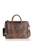 Brown leather laptop briefcase Sale - woodland leather Sale