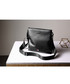 Black leather zip-top crossbody bag Sale - hautton Sale