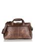 Brown leather weekend bag Sale - woodland leather Sale