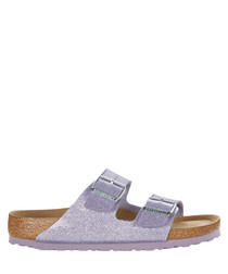 Lavender sparkle narrow sandals