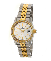 Constance silver-tone steel watch