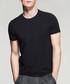 Black cotton blend T-shirt Sale - kuegou Sale