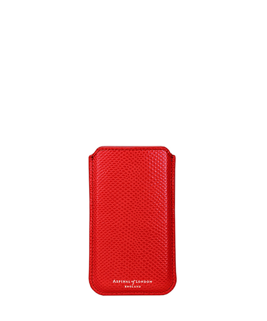 Berry leather iPhone 6 & 7 case Sale - Aspinal