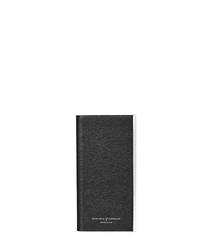 Black iPhone 6 leather case