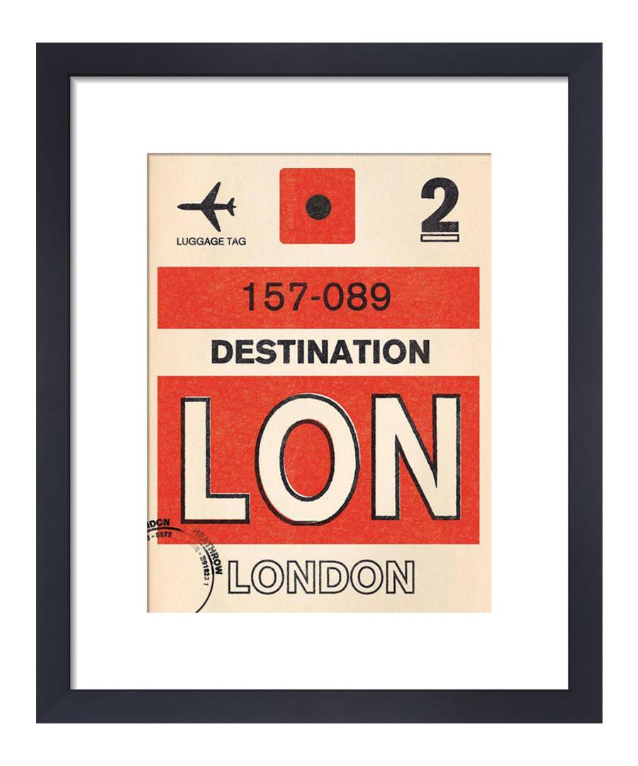 London framed art print 36 x 28cm Sale - The Art Guys