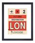 London framed art print 36 x 28cm Sale - The Art Guys Sale