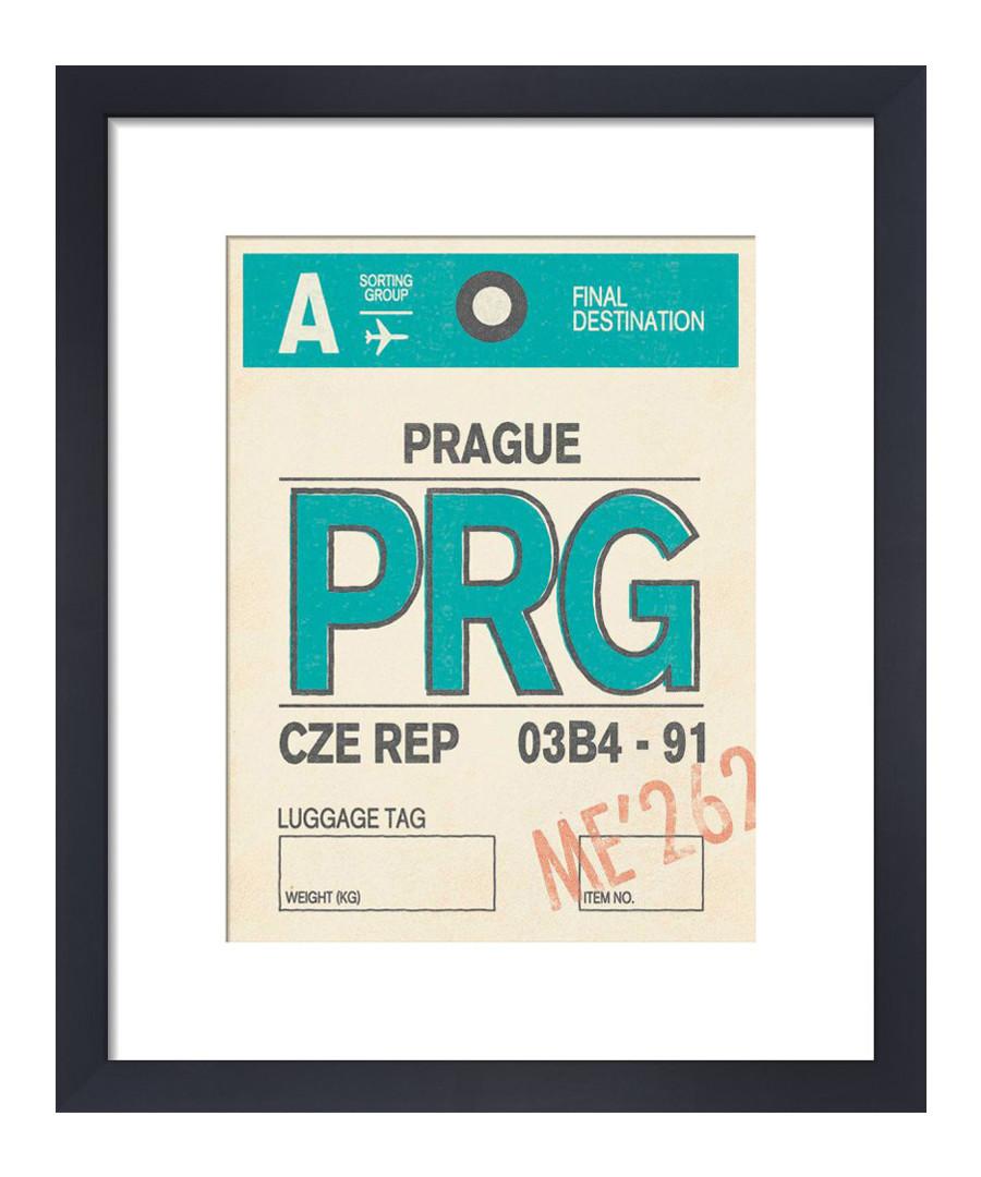 Prague framed art print 36 x 28cm Sale - The Art Guys