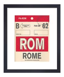 Rome framed art print 36 x 28cm