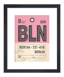 Berlin framed art print 36 x 28cm