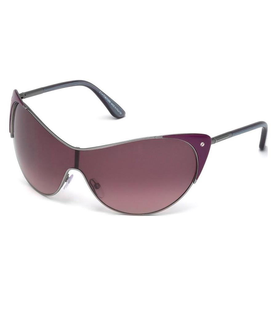 Men's Vanda violet full lens sunglasses Sale - tom ford
