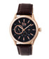 Gustaf dark brown leather watch Sale - reign Sale