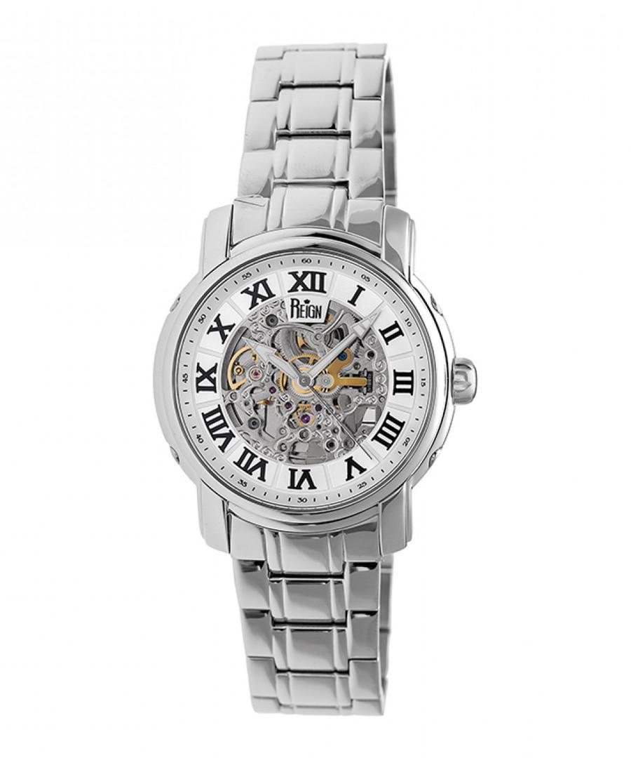 Kahn white & silver-tone steel watch Sale - reign