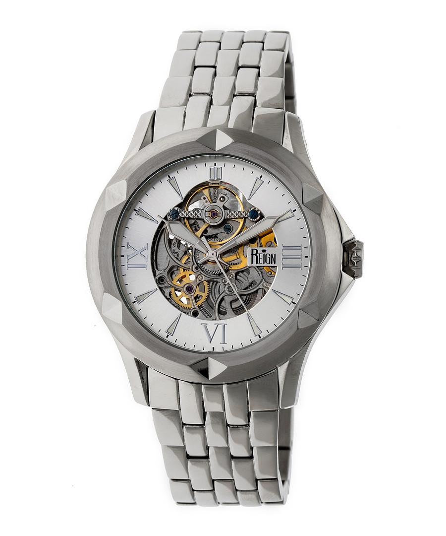 Dantes silver-tone steel watch Sale - reign