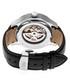 Dantes black leather watch Sale - reign Sale