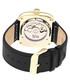 Nero gold-tone & black leather watch Sale - reign Sale