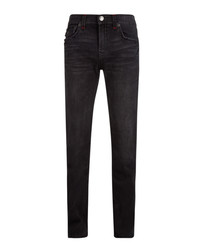 Ricky blue cotton blend jeans