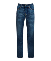 Geno blue pure cotton jeans